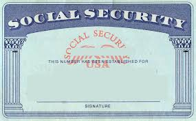 Radiodignidad Blank Print - org Template Social Security Card In