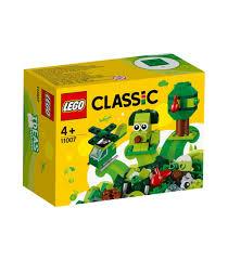 LEGO® Classic 11007 Creative Green Bricks, Age 4+, Building ...