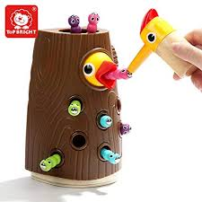 TOP BRIGHT Magnetic Toddler Toy Game Set, Fine ... - Amazon.com