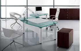 office desk glass. Extraordinary Glass Office Desk Magnificent Design Ideas G