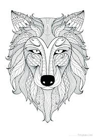 Printable Coloring Pages For Animals Animal Coloring Pages Hard Hard
