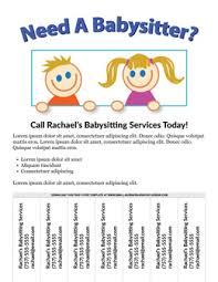 Free Printable Daycare Flyers Free Flyer Templates Online