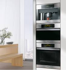 miele classic steam oven and coffee