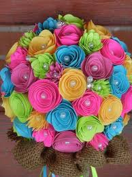 How To Make Paper Flower Bouquet Step By Step How To Make Paper Flower Bouquet Bouquet Just In Five Minutes
