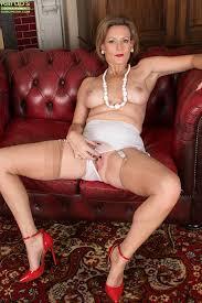 Old nude women high heels