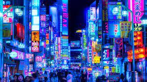 Neon Tokyo Wallpaper