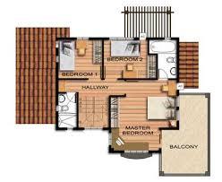 Murano House Model nd Floor Plan   Cebu Sweet HomesMurano House Model nd Floor Plan
