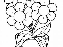 Printable flower coloring pages give you a really great opportunity to teach your child some knowledge about the world around them. Free Easy To Print Flower Coloring Pages Tulamama