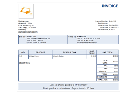 Simple Invoice Sample Adorable French Invoice Template Denryoku