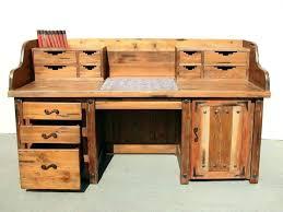 office desks wood. Old Office Desk Desks Wood Rustic Corner L Shaped Style Home Image Of