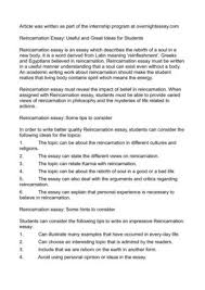 reincarnation essay useful and great ideas for students reincarnation essay useful and great ideas for students