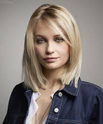 Trendy Kapsels Voor Halflang Haar Haircuts Halflang Blonde