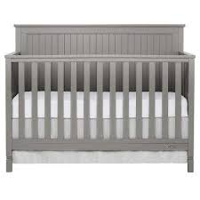 Gray baby furniture Gray Nursery Alexa Storm Grey 5in1 Convertible Crib Rooms To Go Kids Baby Furniture Kids Baby Furniture The Home Depot
