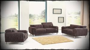 awesome contemporary living room furniture sets. Amazing Contemporary Living Room Furniture Sets With Dark Brown Sofa And Glass Wall Curtains Also Grey Carpet Concrete Flooring Awesome I