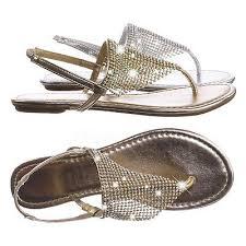 Addilyn <b>Rhinestone Crystal</b> Mesh <b>Flat</b> Sandal - <b>Women Flat</b> Thong ...