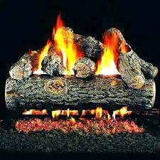 electric fire logs fireplace log battery operated fake artificial gas electri