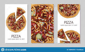 Flyers Theme Pizza Flyers Stock Vector Illustration Of Element