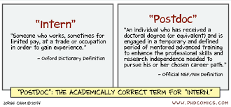 phd   who actually is a post doctoral fellow    academia stack        phd comics post doc definition