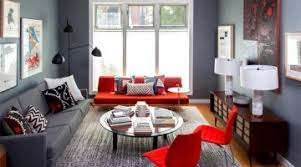 top red living room casual. Adorable-top-red-living-room-brookyn.jpg Top Red Living Room Casual O