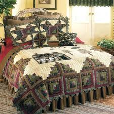 northwoods bedding quilt northwoods crib bedding set