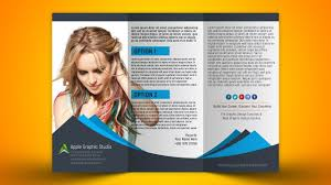 How To Design Trifold Brochure Photoshop Cc 2018 Tutorial