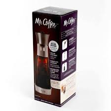 Coffee programmable 12 cup coffee maker model no. Mr Coffee Uber Caff 5 Cup Cold Brew Coffee Maker With Filter 985105368m The Home Depot