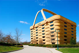The Longaberger Basket Company home office, located in Newark Ohio, is a  sq. basket, seven stories in height with 84 windows.