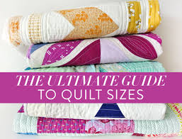 Bedspread Sizes Chart The Ultimate Guide To Quilt Sizes Suzy Quilts