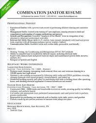 Janitor Resume Sample Mesmerizing Electrical Foreman Resume Samples Inspirational Janitorial Resume