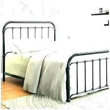 Black Metal Bed Black Metal Queen Bed Antique Wrought Iron Bed ...