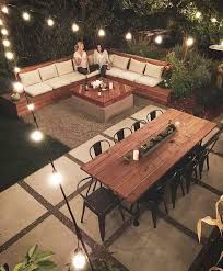 Patio Design Ideas With Fire Pits this amazing backyard space from fellow sacramentan urbanfarmstead is pretty much the epitome of