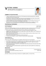 Basic Resume Sample Format Sample Of A Simple Resume Sample Resume