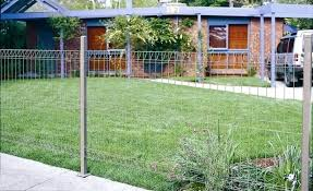 wire garden fence. Wire Garden Fence Ideas Residential Fencing For Your  And Pool Arc Fences .