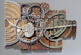 Artful Home Equisymbrium No 2 By Christopher Gryder Ceramic Wall Sculpture