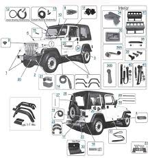 50 best jeep images on pinterest jeep wrangler yj, jeep stuff 1995 Jeep Wrangler Wiring Diagram yj wrangler 1987 1995 replacement body parts 1995 jeep wrangler wiring diagram