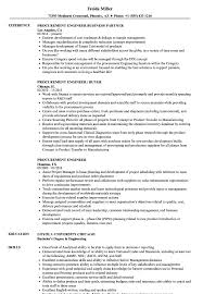 Engineering Resume Examples Procurement Engineer Resume Samples Velvet Jobs 23