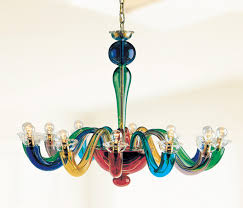 serenissima l12 by leucos chandeliers