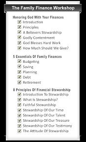 Family Finance Workshop