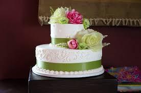 Beautiful 2 Tiered Wedding Cakes