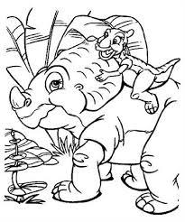 Kids N Fun 16 Kleurplaten Van Baby Dinosaurussen