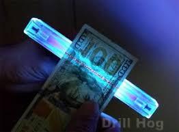 Forensic Detector Dna Uv Black Light Bill Fluorescent Counterfeit Ebay Evidence