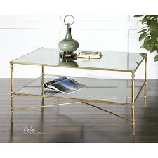 gold glass end table uttermost gold coffee table on brass and glass cocktail silver base small round black chrome wood metal with storage rose steel