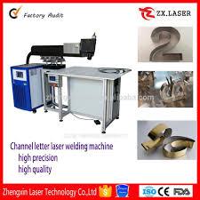 Aluminum Stainless Steel Channel Letter Portable 400 Amp Laser