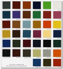 Dupont Candy Paint Color Chart The Passion