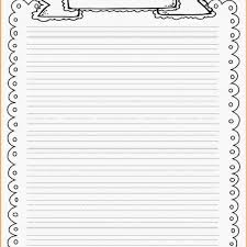 printable lined writing paper with