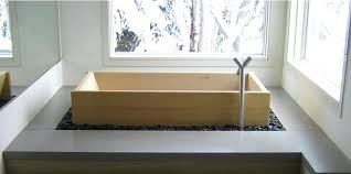 what is a japanese soaking tub wood diy