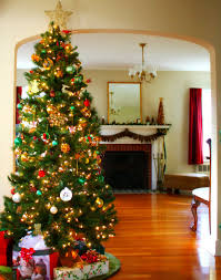 ... Delectable Look Of Red And Gold Christmas Tree Decorating Ideas : Foxy  Design Ideas Using Brown ...
