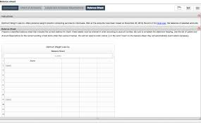 Solved Instructions Chart Of Accounts Labels And Amounts