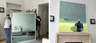 mirror tv. your new mirror and frame \u2013 the entertainment system blends flawlessly with interior tv o