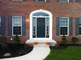 Front Doors front doors with sidelights pics : Doors. astounding black front door with sidelights: outstanding ...